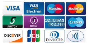 platba kreditními kartami